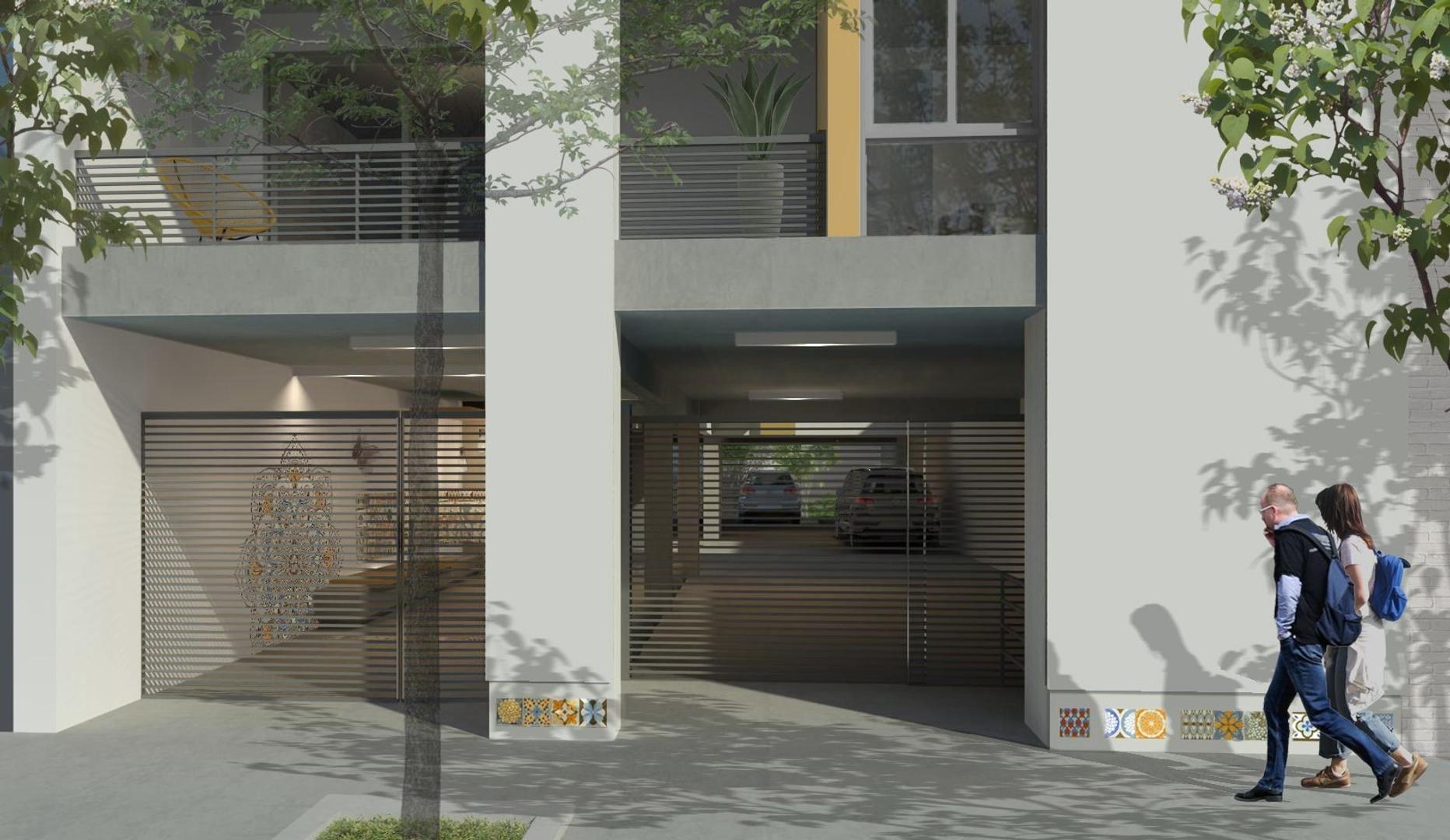 Departamento en Colegiales con 2 habitaciones