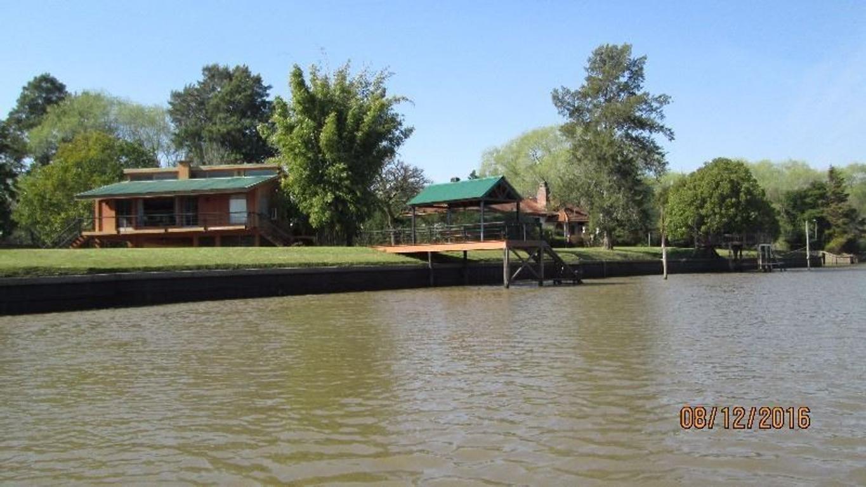 Casa en venta en el Delta en una de las zonas más lindas