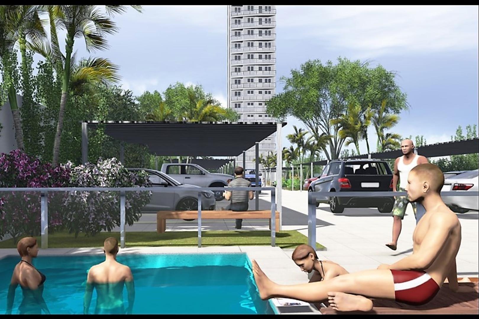 OBRA INICIADA / DTO 2 Amb 36,50 m2 u$s74.000 – AL POZO Op FINANC. 36ctas. Av. Alte Brown 2973