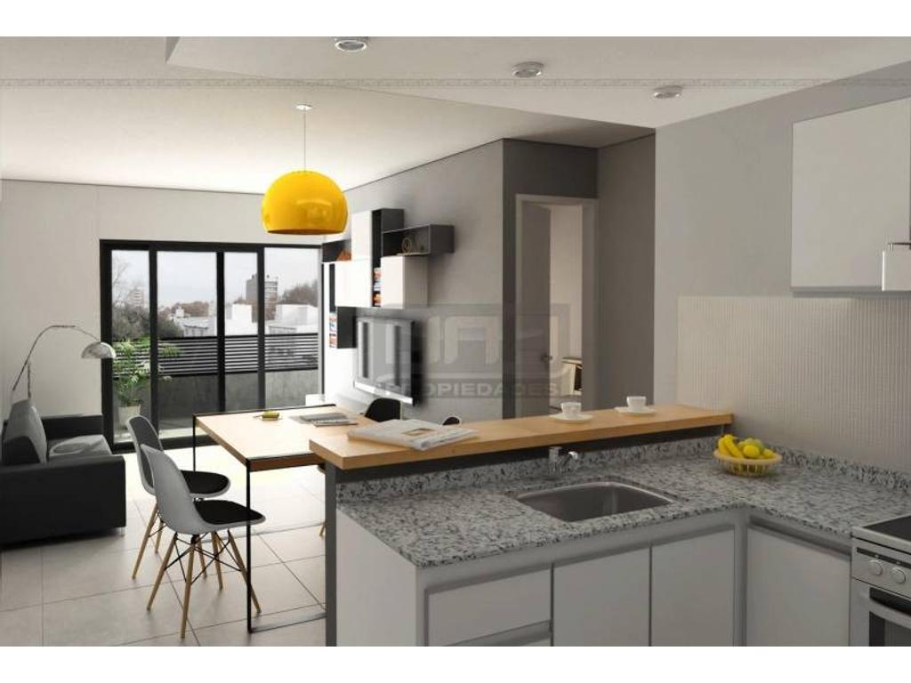 Jujuy y Av. Francia  - Dpto de 1 Dormitorio Externo. Posibilidad cochera. Vende Uno Propiedades