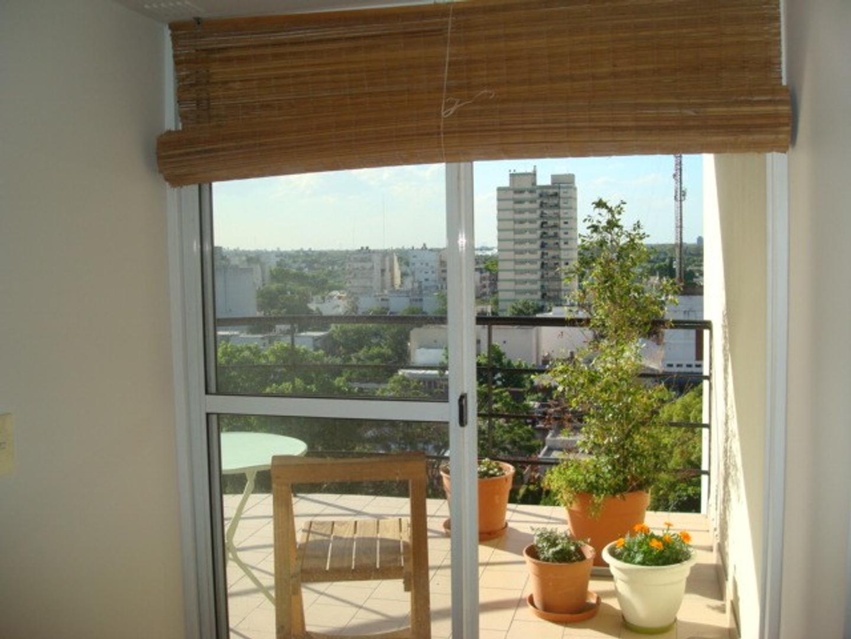 DUEÑO muy lindo 2 ambientes frente piso 9 con balcón terraza