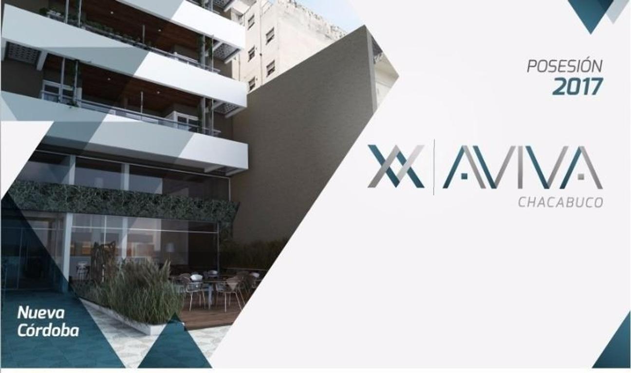 Departamentos en Construcción 2 Dormitorios – Nueva Córdoba – Bv. Chacabuco 432 – Financiación!