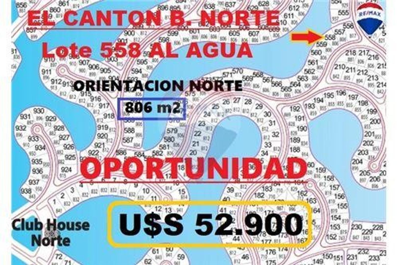 Lote 558 A LAGUNA, Barrio Privado EL CANTON Norte