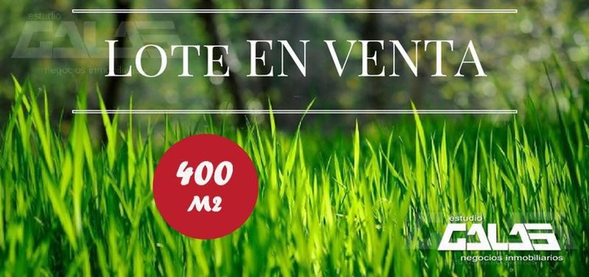 Hermoso terreno de 400m2 cercano a Av. Rivadavia