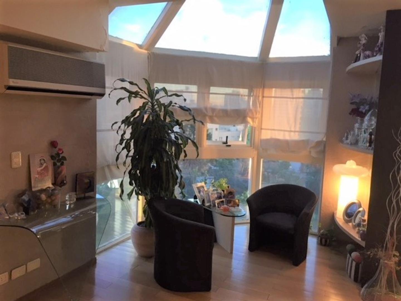 Espectacular Penthouse 207 mts con 2 cocheras fijas a espectacular vista panoramica a verde