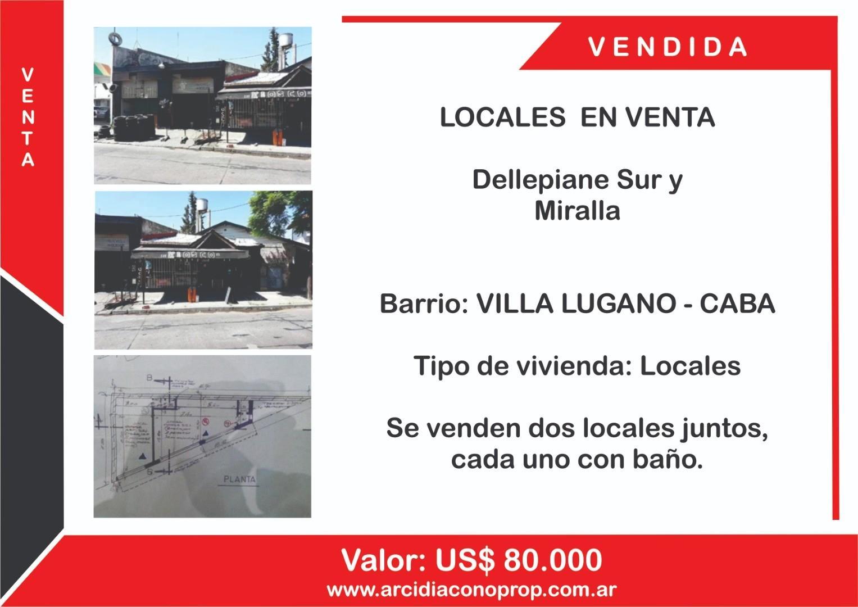 Local en Venta en Villa Lugano