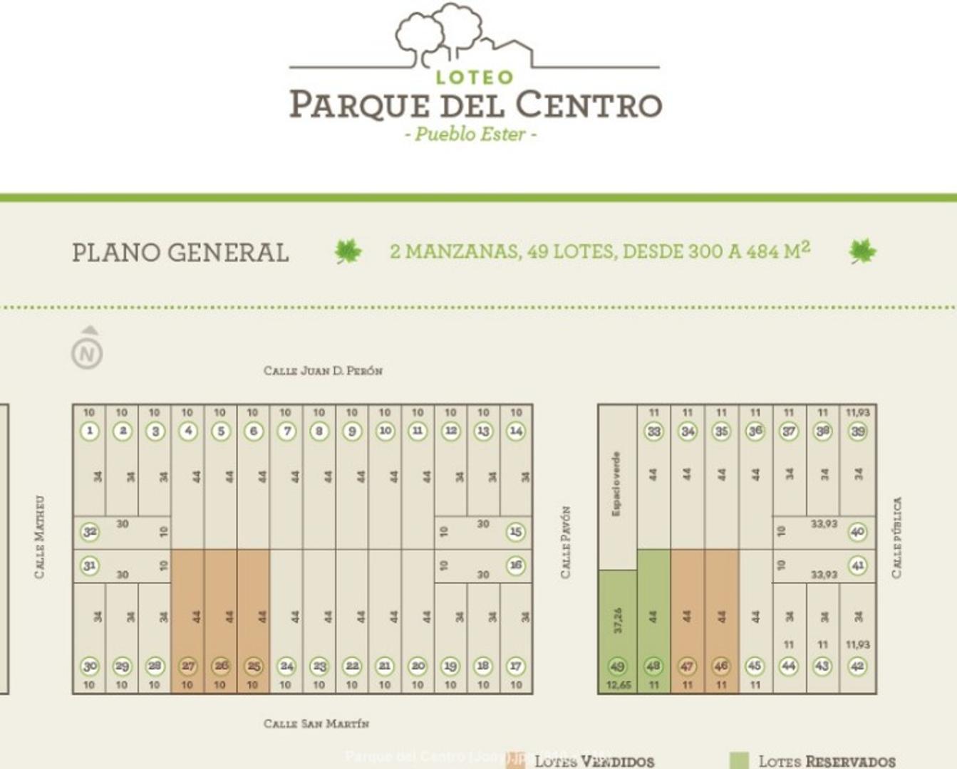 EXCELENTES LOTES EN PUEBLO ESTHER CERCANO A LA COMUNA