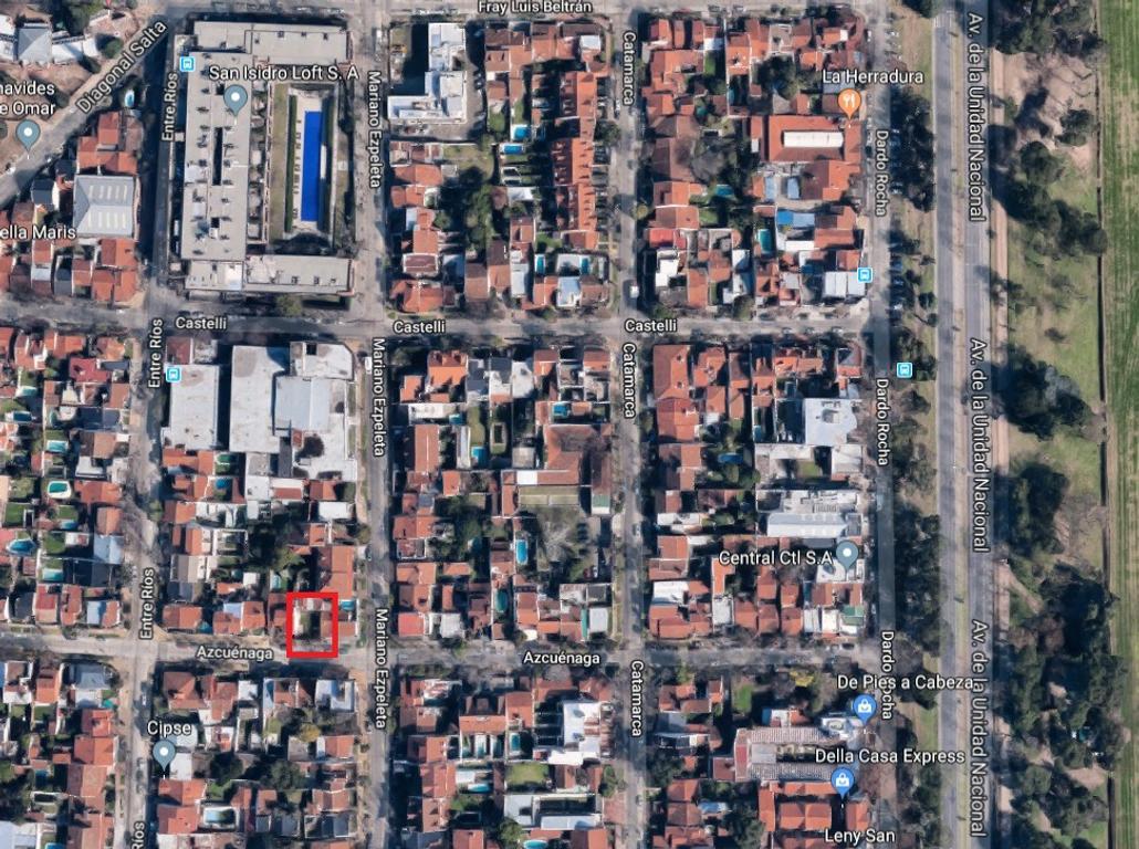 Casa  terreno LOTE  PROPIO  venta Martinez Acassuso