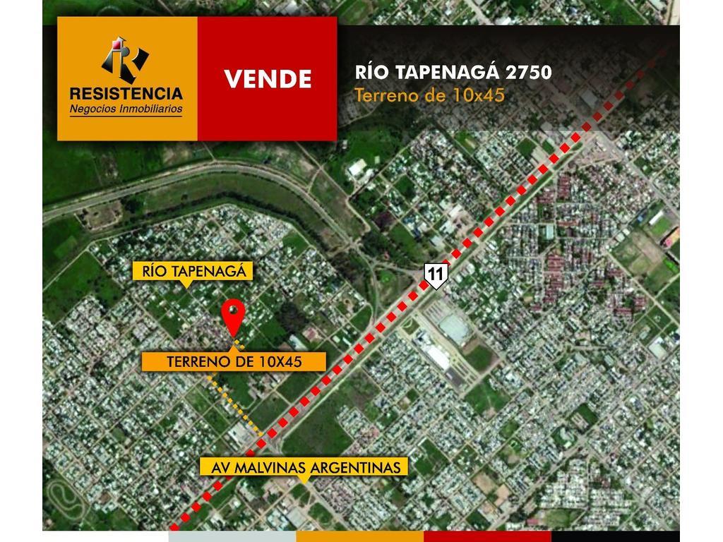 SE VENDE Terreno de 10x45 en calle Río Tapenagá