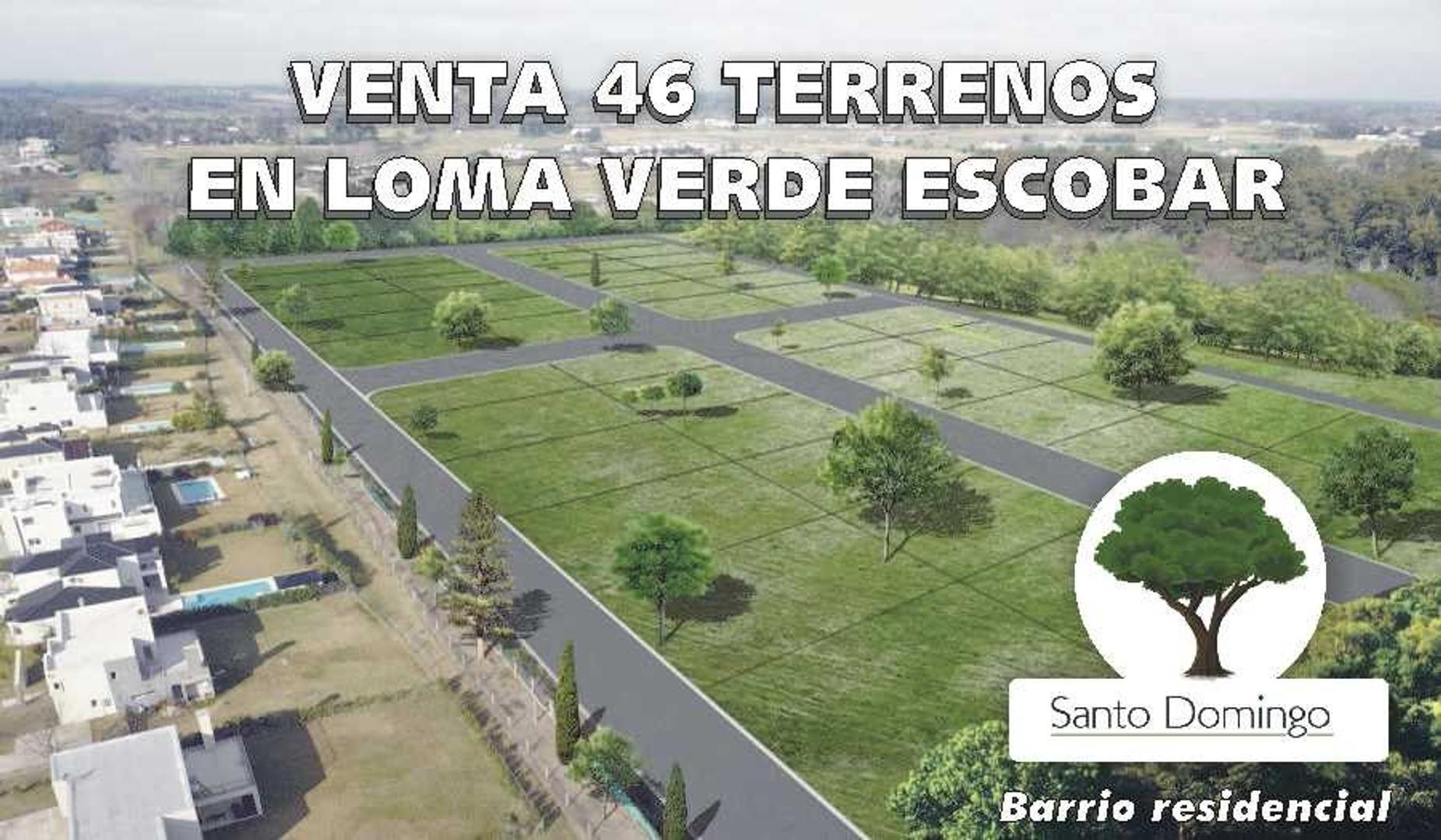 Venta Lotes Financiados en Loma Verde Escobar