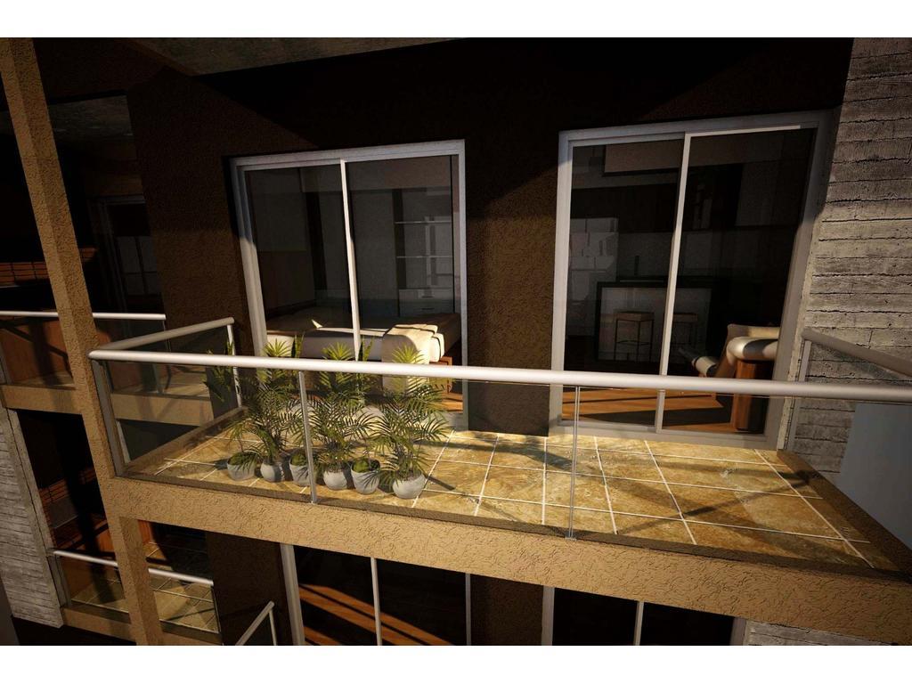 PH 1 ambiente con balcon en 2° piso en pozo opcional cochera
