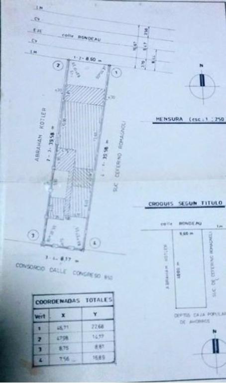 Venta de Importante Propiedad especial para proyecto inmobiliario