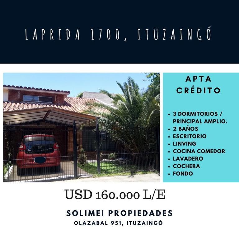 Laprida 1786,Ituzaingó
