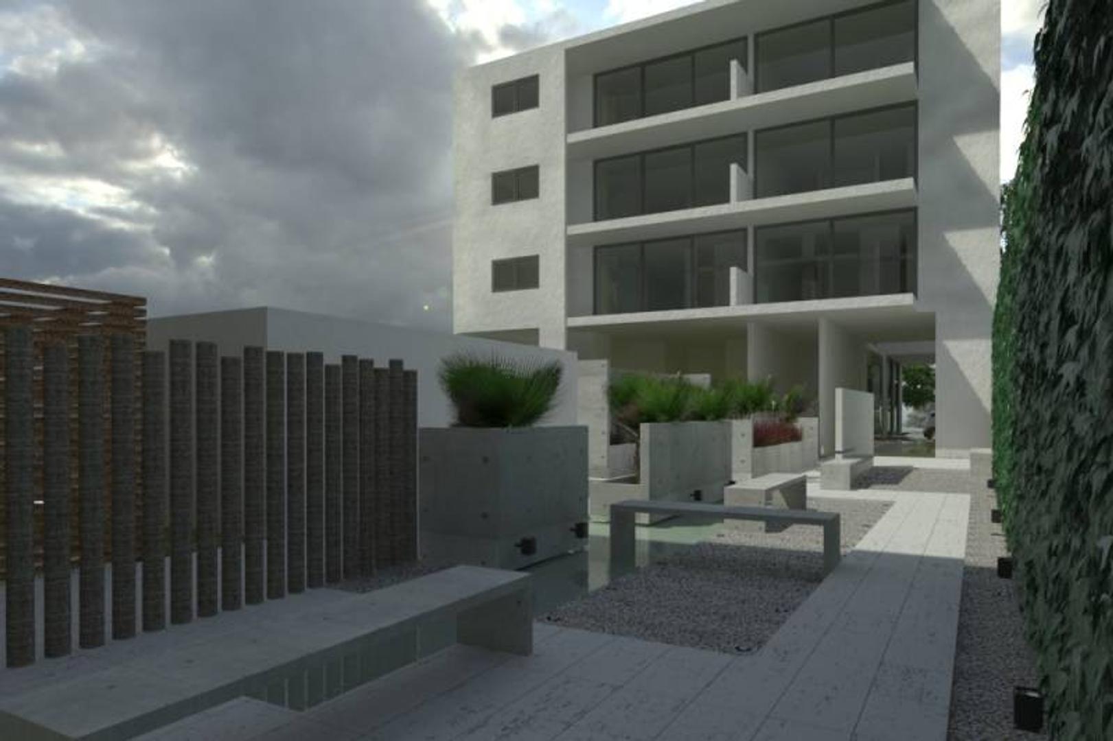 DEPARTAMENTO EN CONSTRUCCION DE CATEGORIA DE 3 AMBIENTES DE 93 M  CON S.U.M.  PISCINA  COCHERAS OPTA