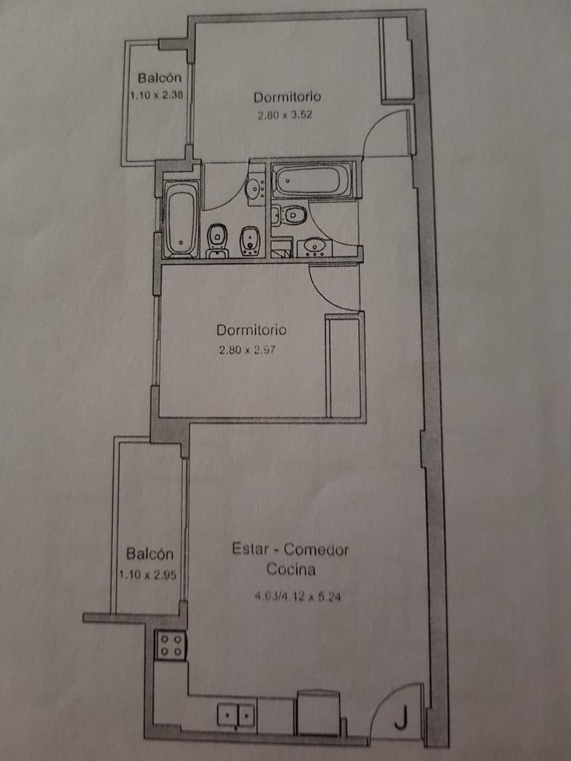 Departamento en Venta en Flores - 3 ambientes