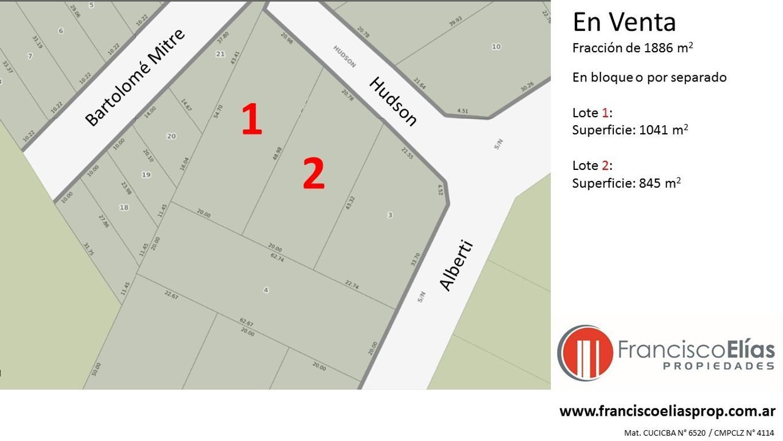 Terrenos en General Pacheco, gran ubicación y superficie. FINANCIACIÓN