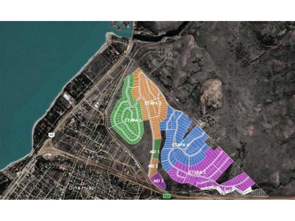 Oportunidad lote de 1000 m2 en Barrancas de Dina Huapi.