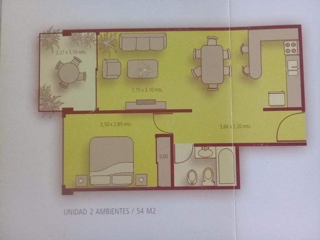 CABALLITO 2 AMB DEPTO EN VENTA 54 M2 Balcón terraza, sum, parrila, piscina