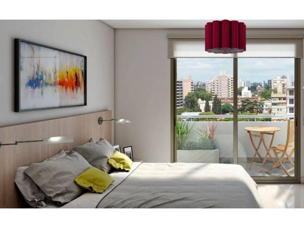 1 Dormitorio con amenities en azotea