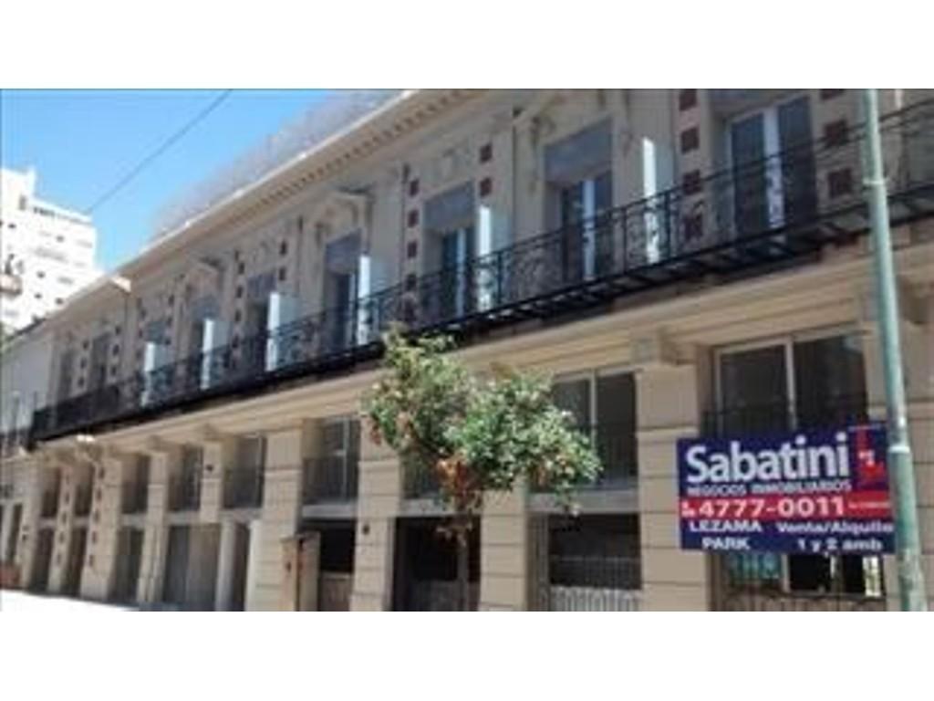Departamento venta 1 Ambiente  con terraza Barracas
