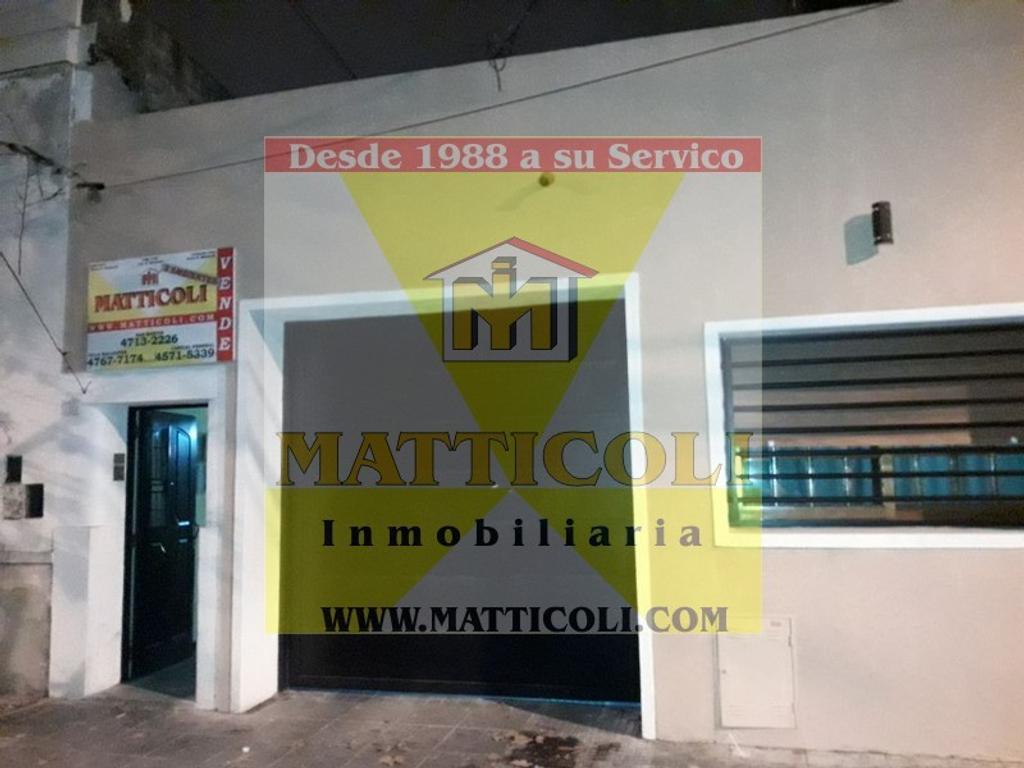 PH Interno 3 ambientes con Patio y Terraza en San Martin Centro