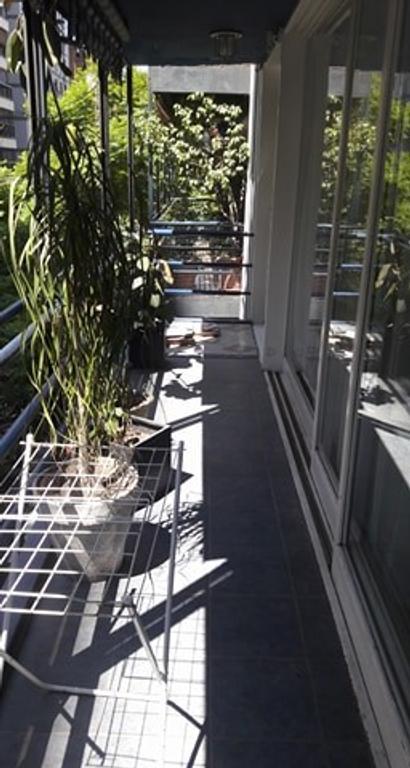 Piso 3 1/2 amb. Las Cañitas 120m2 c/ balcón - AMUEBLADO