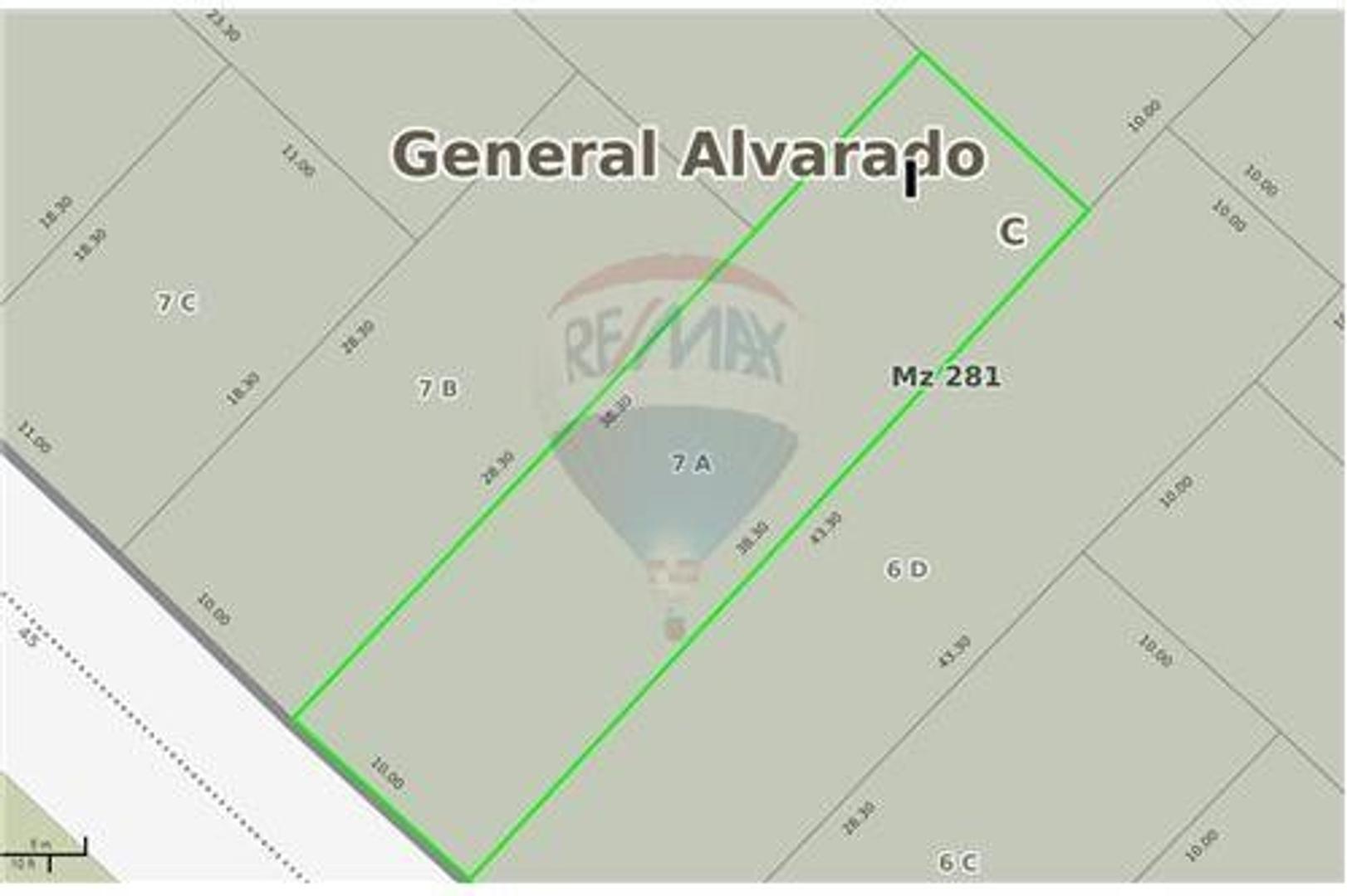 Terreno 380 m2 a 2 cuadras del Mar en Miramar