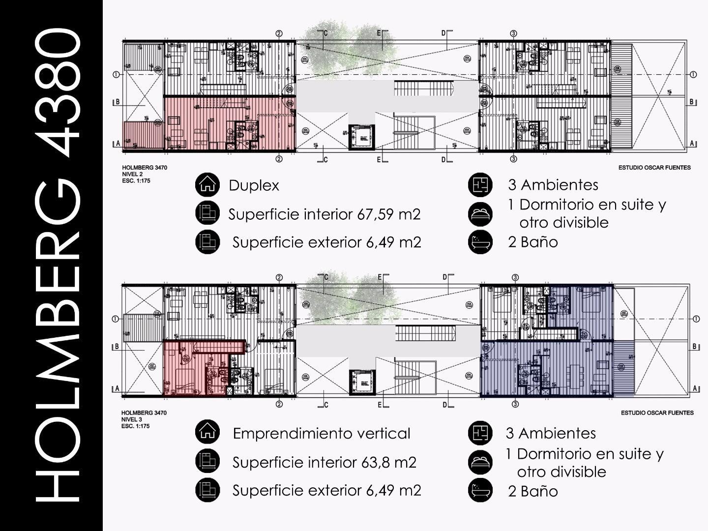 DEPARTAMENTO A ESTRENAR- 3 AMBIENTES- AMPLIO BALCÓN