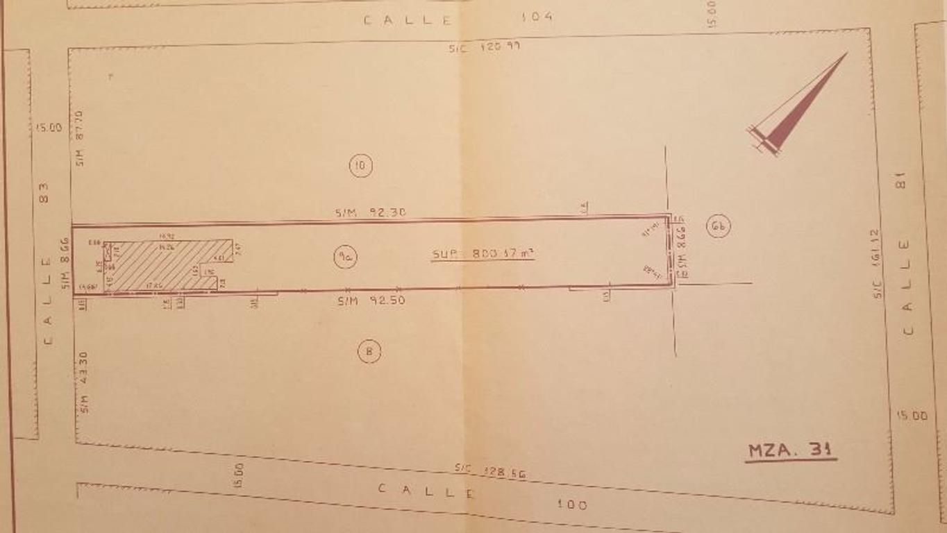 VENTA - Terreno Unico de 800 m2 en Villa Ballester