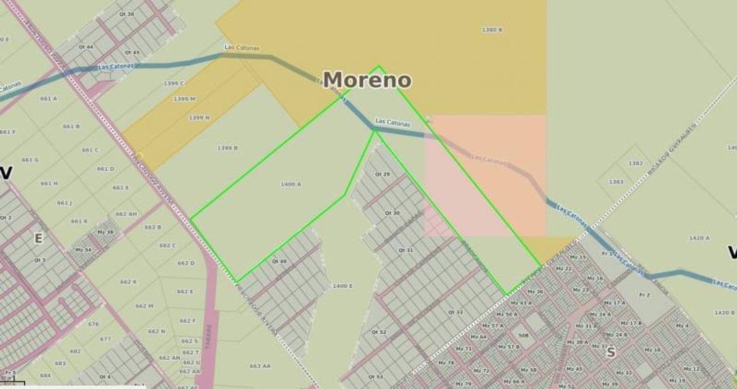 Moreno-30 hectáreas Gran inversion