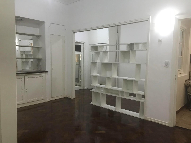 Hermoso y moderno 2 ambientes con area de escritorio indep, amplia cocina y baño, todo a nuevo