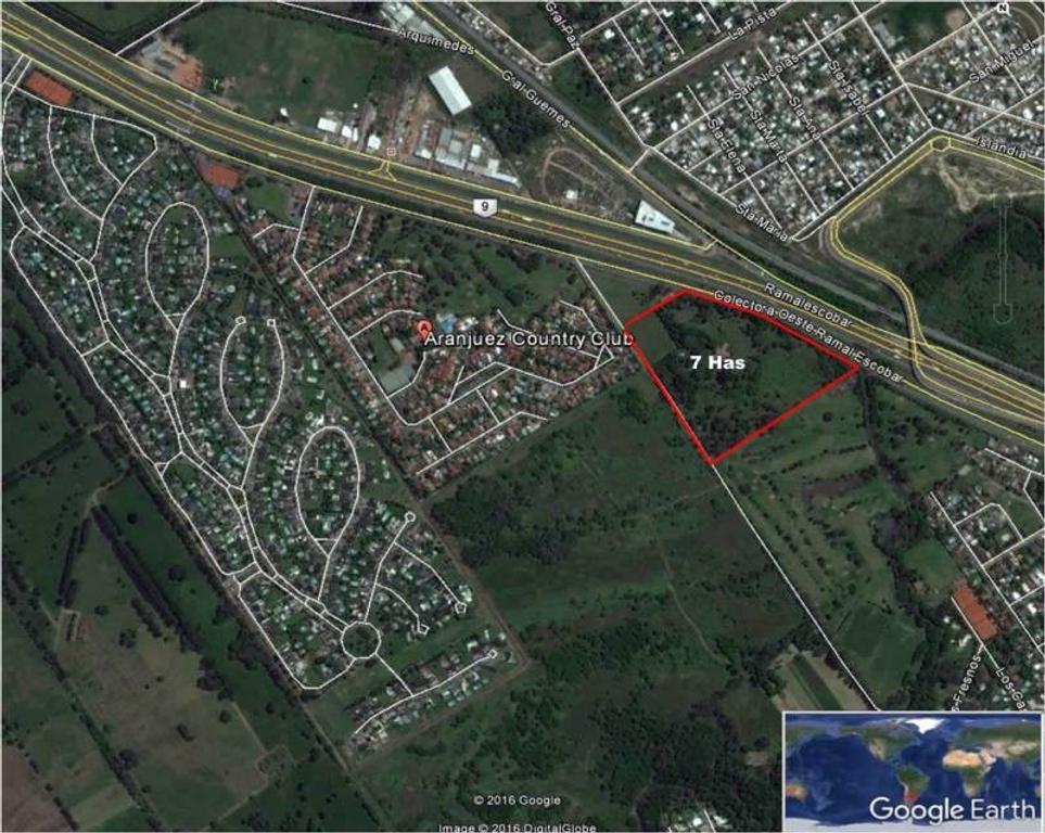 Venta de Fraccion en  zona Maschwitz - Escobar, Gran Bs.As., Argentina,