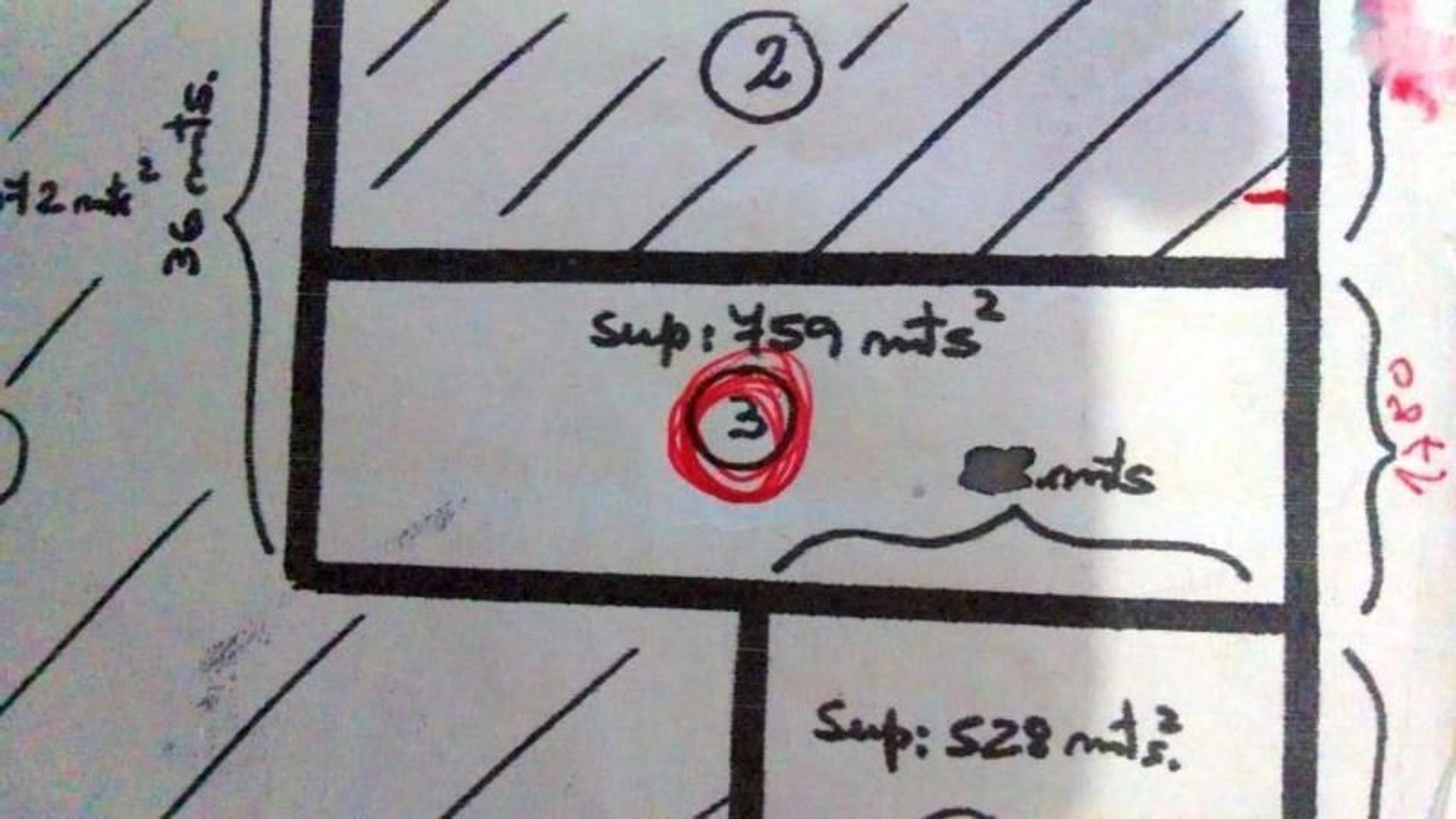 LOTE 760 m2 – Barrio Nuevo – Centro – San Marcos Sierras