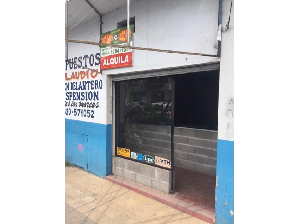 Local Alquiler Jose C. Paz Av. Peron