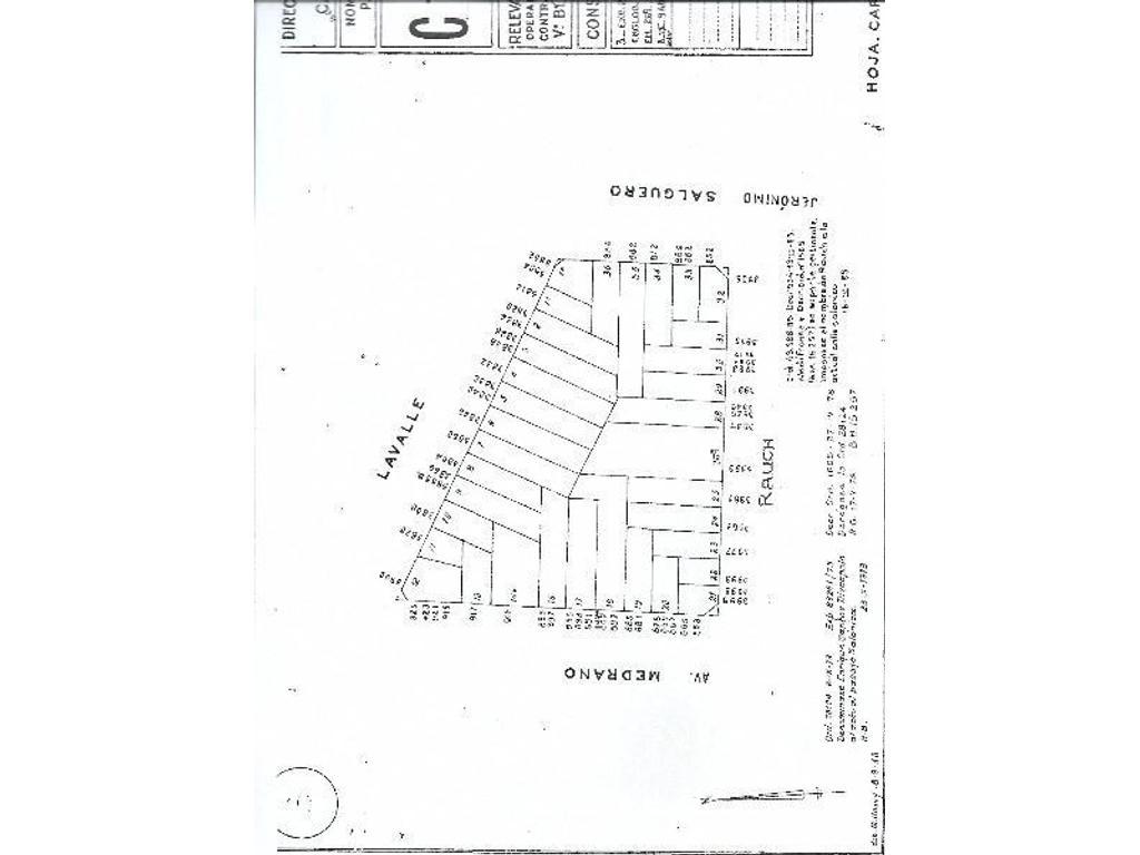 Lote propio 8.66x26.50  2 locales + vivienda. Multiples usos. OPORTUNIDAD Zona UTN y UP