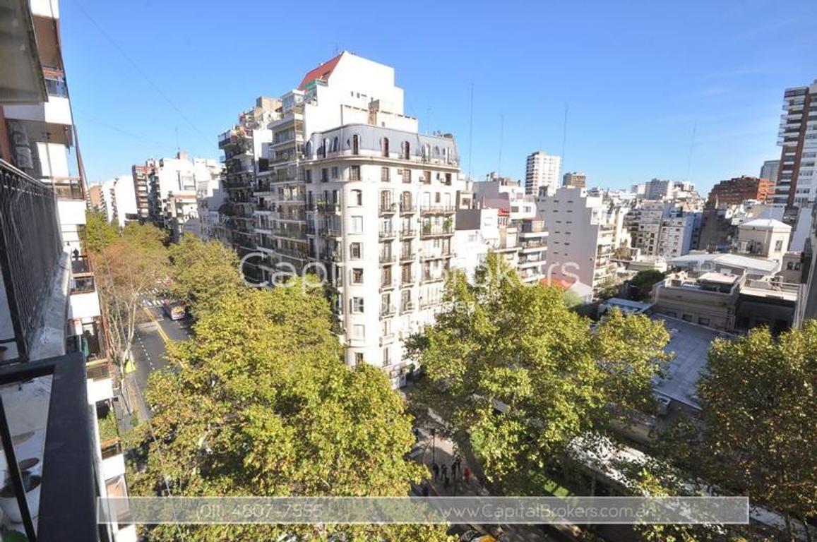 Departamento en Barrio Norte 4 ambientes con balcón