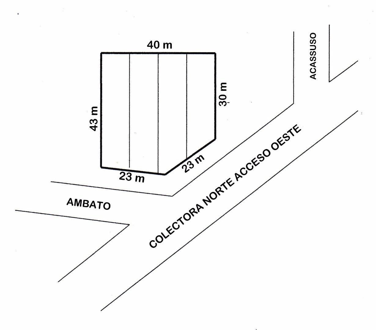 CUATRO LOTES EN BLOCK - SOBRE COLECTORA NORTE ACCESO OESTE KM 47