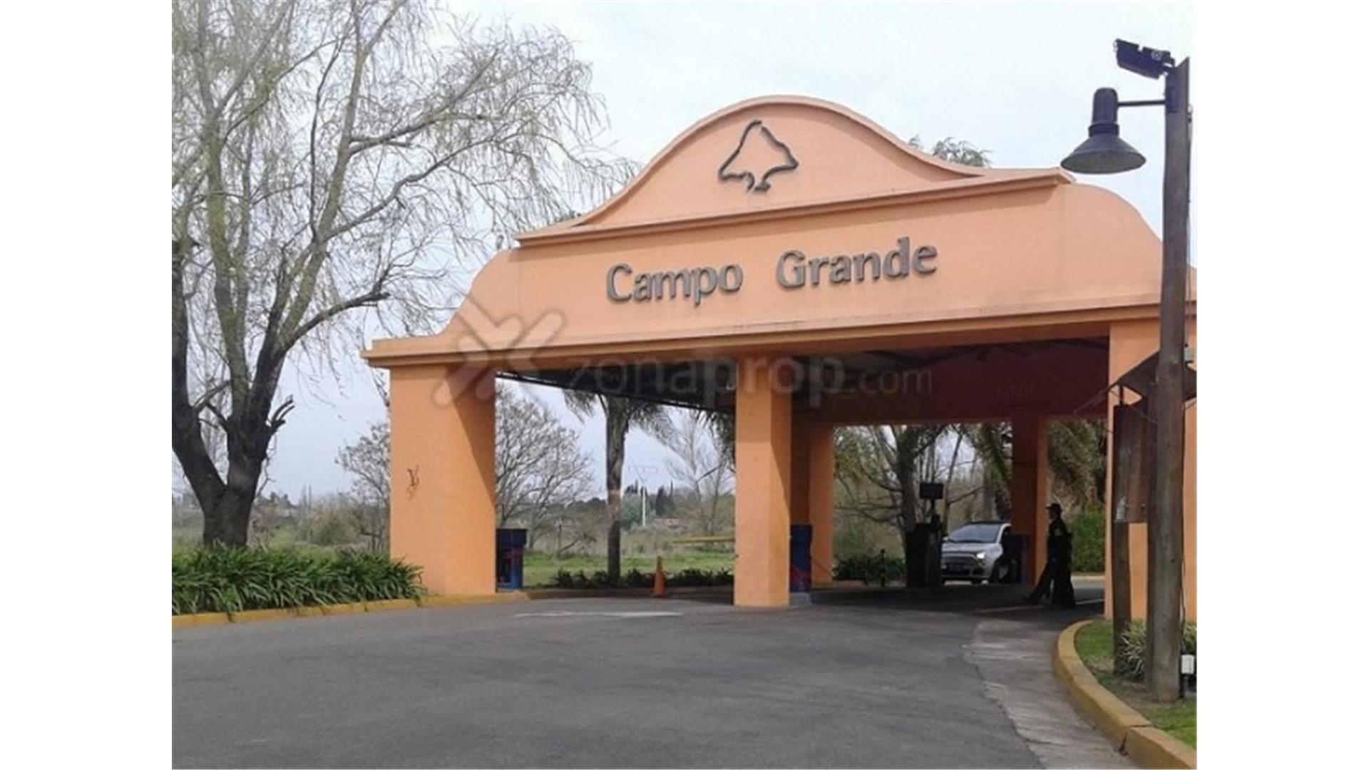 LOTE EN BARRIO CAMPO GRANDE A LA VENTA