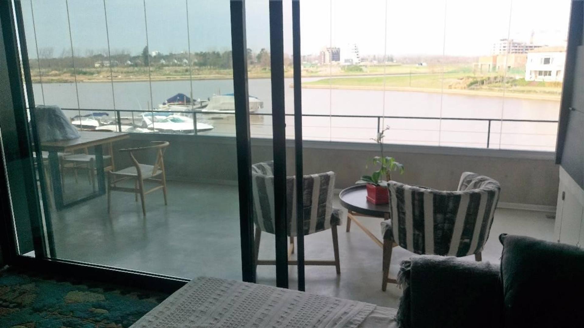 Excelente dpto con vista plena al río en Nordelta, Marina del Yacht