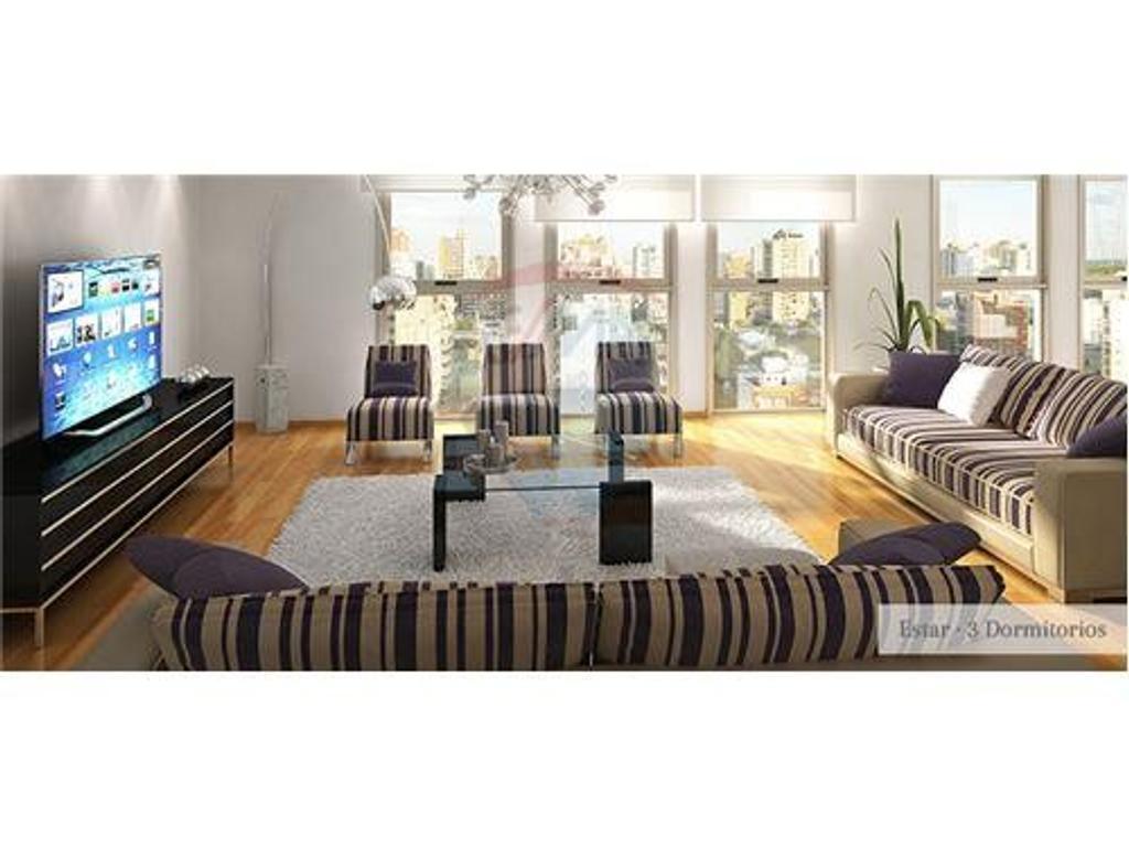 Piso de categoria 3 dormitorios en venta La Plata