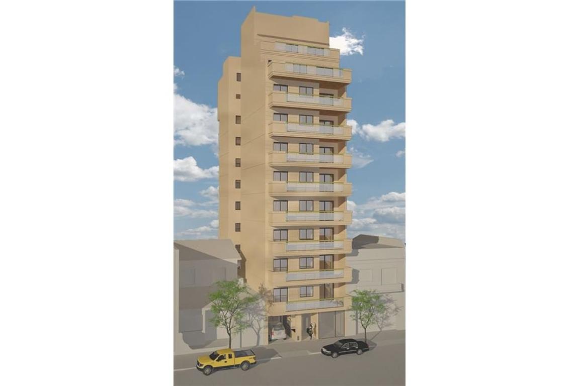Gran ambiente 50 m2 en construccion c/balcon, luz.