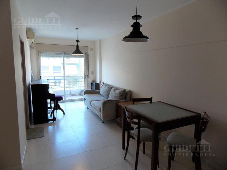 alquiler departamentos 2 ambientes semi-amoblado con balcón en Nüñez