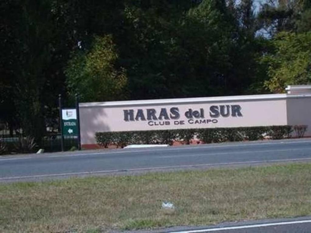 LOTE EN HARAS DEL SUR 1250 M2 - KM 73 RUTA 2