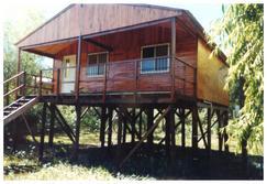 2 cabañas amuebladas completas en Isla Leonor