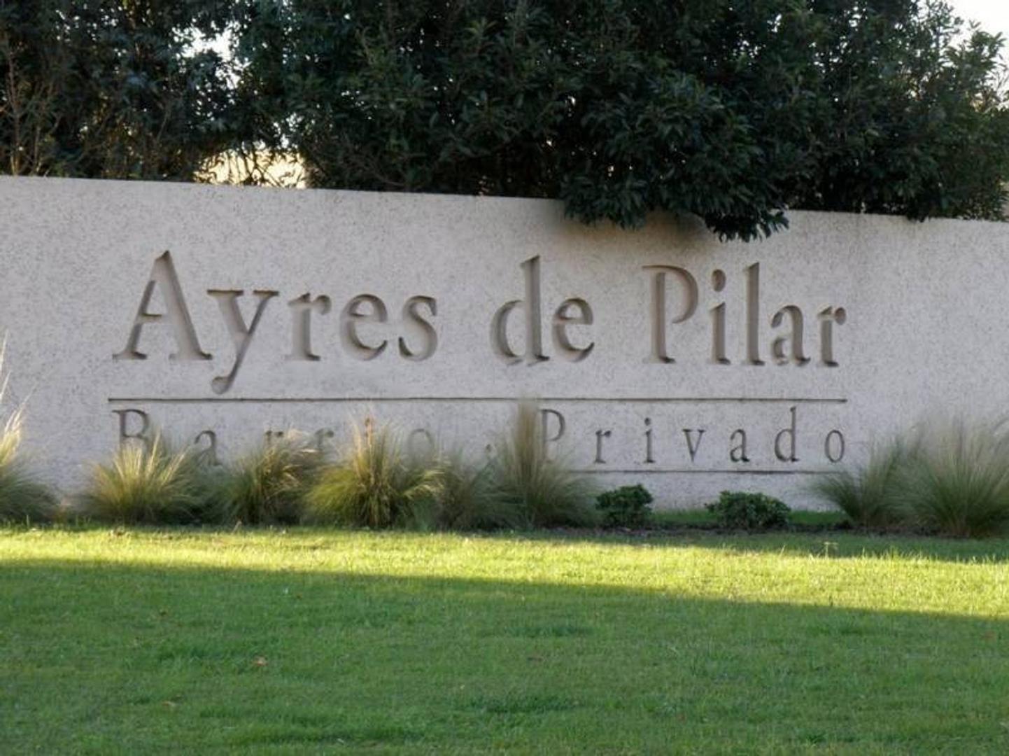 Casa en construcción en Ayres de Pilar, Pilar.