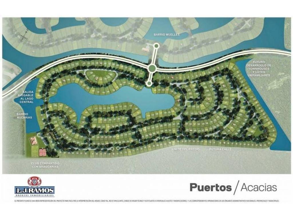 PUERTOS - BARRIO ACACIAS - RAMAL ESCOBAR KM 45 - LOTE 36 - 100