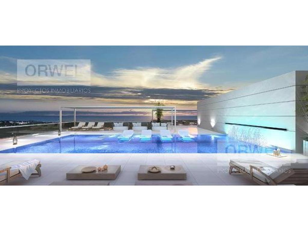 Excelente edificio con amenities y calidad 10! Ubicacion de lujo! Seg 24 hs.