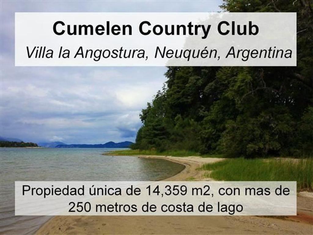 Venta casa  en Cumelén Country Club Villa La Angostura