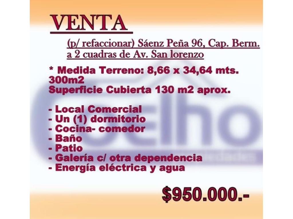 Sáenz Peña 96 Cap. Bermúdez