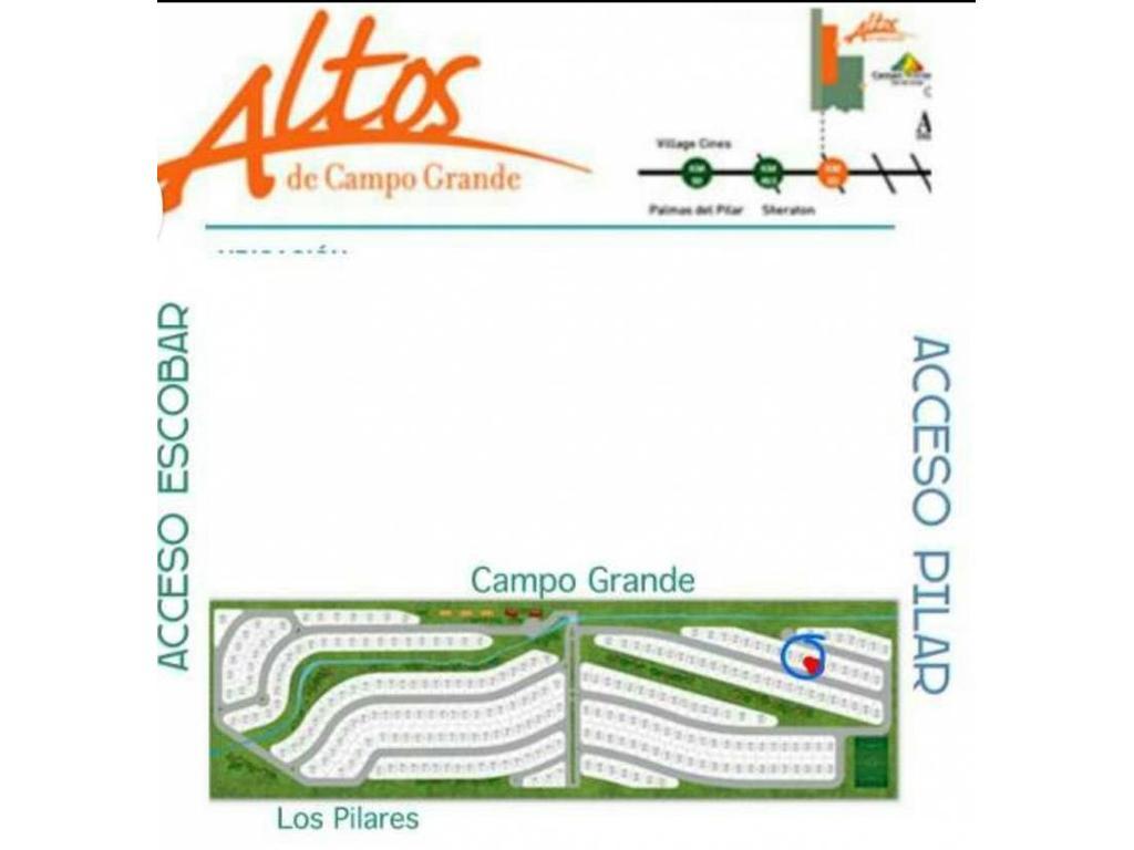 Lote en venta en Altos del Campo Grande